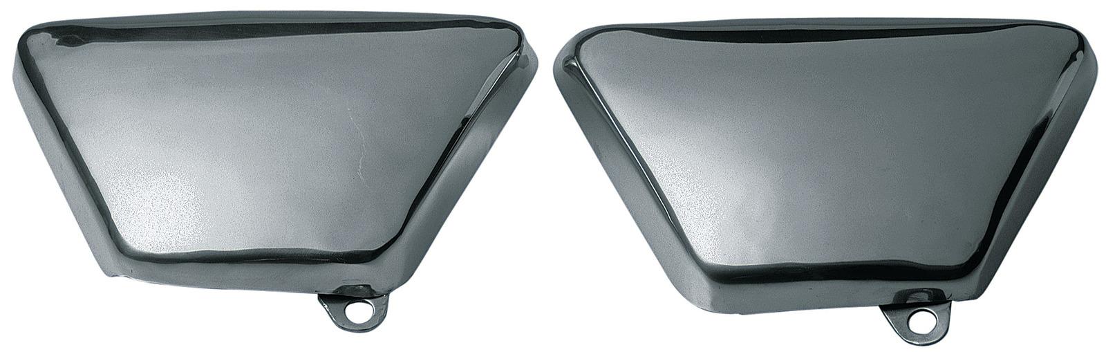 yamaha sr500 aluminium seitendeckel set rechts links. Black Bedroom Furniture Sets. Home Design Ideas