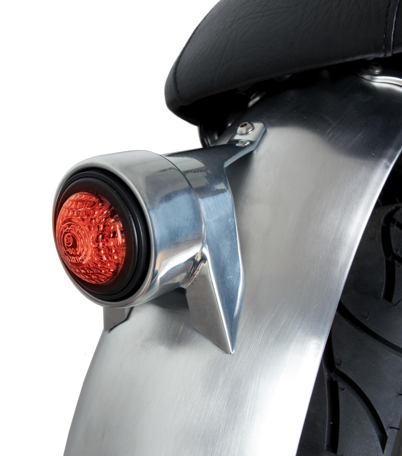 Motorradteile LED Rcklicht Klassik Schwarz Cafe Racer Bobber ...